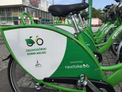(Polski) Odliczamy do rozpoczęcia sezonu Zielonogórskiego Roweru Miejskiego
