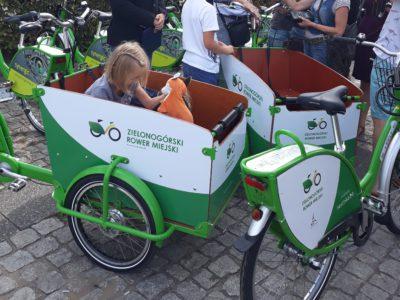 (Polski) Koniec sezonu rowerowego w Zielonej Górze