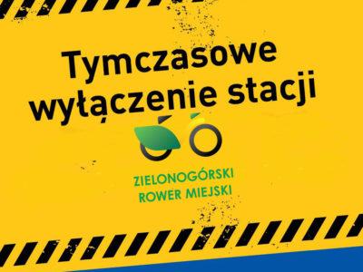 (Polski) Zielonogórski Rower Miejski – tymczasowe wyłączenie systemu