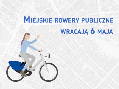 (Polski) 6 maja wraca rower miejski w Zielonej Górze